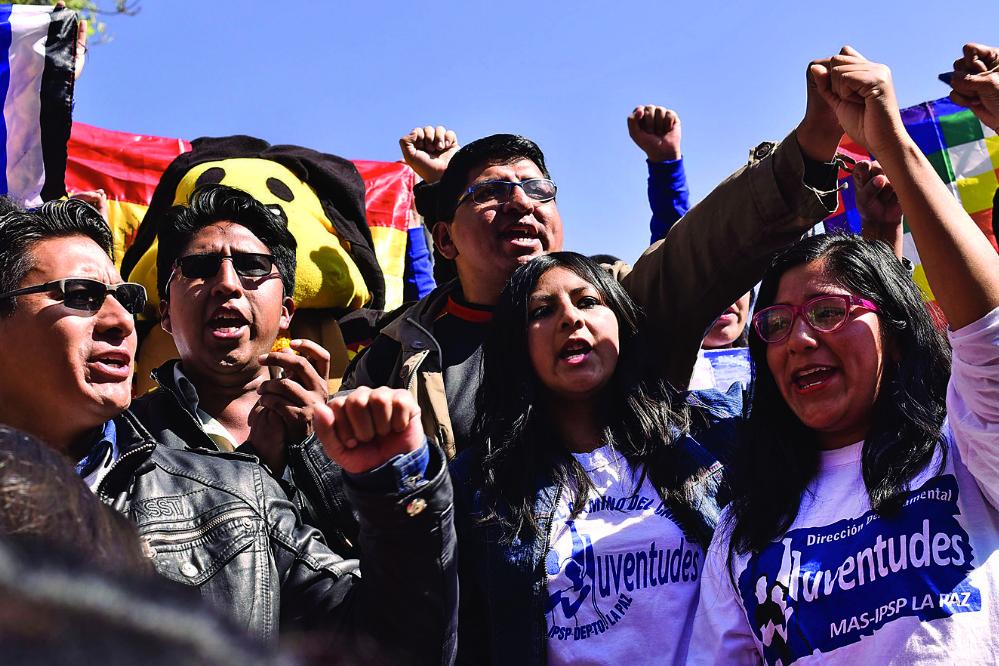 Juventudes del MAS apuntan a atacar a opositores en las redes
