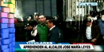 Video titulares de noticias de TV – Bolivia, noche del viernes 20 de abril de 2018
