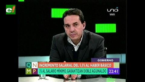 Ministro Guillen afirma según el crecimiento económico del país habrá segundo aguinaldo