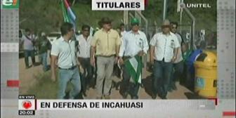 Video titulares de noticias de TV – Bolivia, noche del martes 10 de abril de 2018