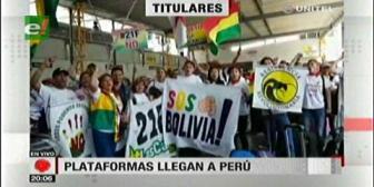Video titulares de noticias de TV – Bolivia, noche del jueves 12 de abril de 2018