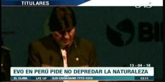 Video titulares de noticias de TV – Bolivia, mediodía del viernes 13 de abril de 2018