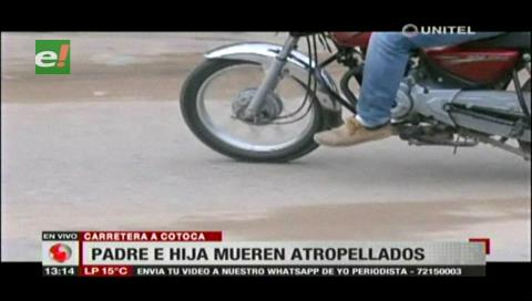 Familia de motociclista atropellado exige que el chofer del bus pague por su delito