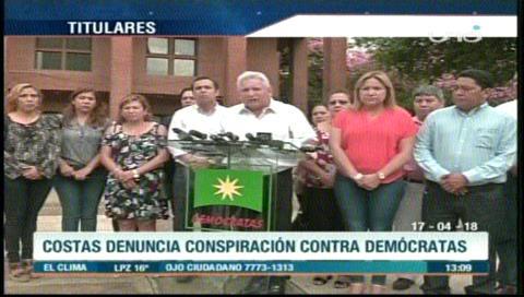 Video titulares de noticias de TV – Bolivia, mediodía del martes 17 de abril de 2018