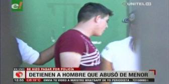 Detienen a sujeto que se hizo pasar por policía para abusar de dos adolescentes
