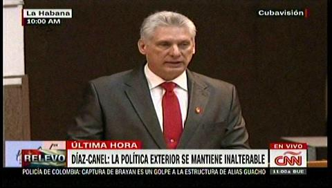 Miguel Díaz-Canel reivindica el legado de los Castro tras ser elegido presidente de Cuba