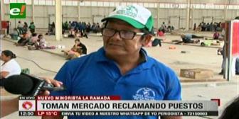 Gremiales quieren dormir en el nuevo mercado La Ramada para cuidar sus puestos