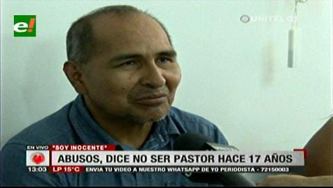 Envían a Palmasola a pastor acusado de violación