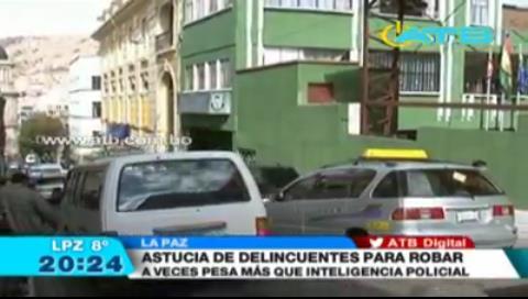 La Paz: Delincuentes robaron bebidas alcohólicas en las puertas de la UTOP