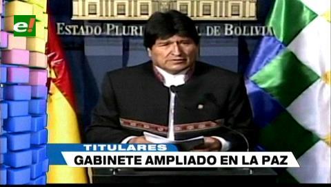 Video titulares de noticias de TV – Bolivia, mediodía del viernes 27 de abril de 2018