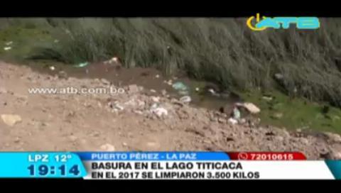 Contaminación en el lago Titicaca es un problema que Bolivia y Perú deben atender