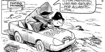 Caricaturas de Bolivia del lunes 16 de abril de 2018