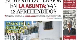 Portadas de periódicos de Bolivia del miércoles 18 de abril de 2018