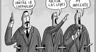 Caricaturas de Bolivia del martes 24 de abril de 2018