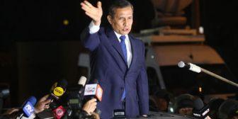 'Lo que no nos mata, nos hace más fuertes', afirma Ollanta Humala