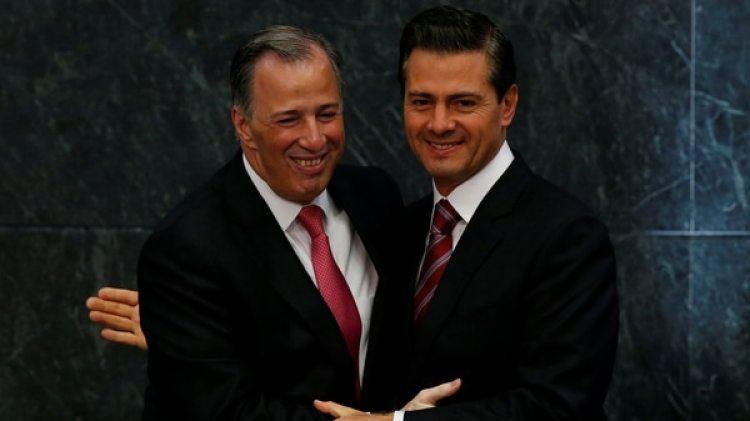 José Antonio Meade y Enrique Peña Nieto (Reuters)