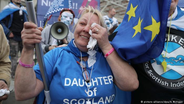 England Schottland Referendum Unabhängigkeit (picture-alliance/dpa/A. Milligan)