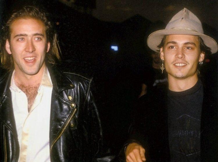 Nicolas Cage fue quien convenció a Depp para que se iniciará en la actuación