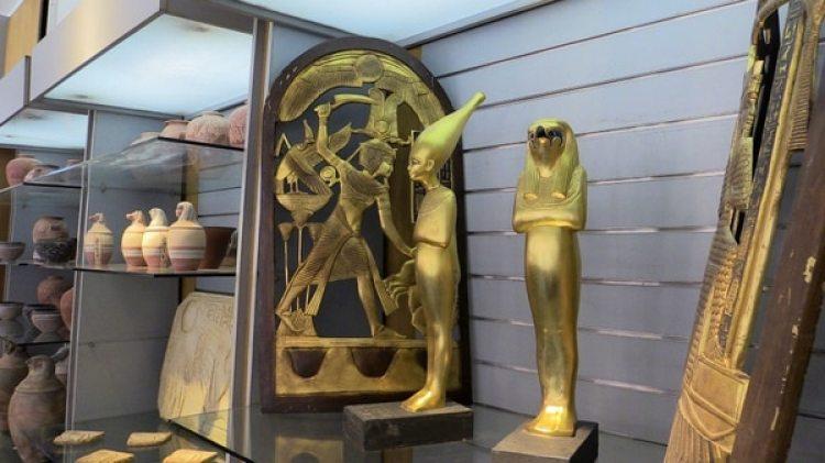 Réplicas de los tesoros de los grandes faraones egipcios (EFE)