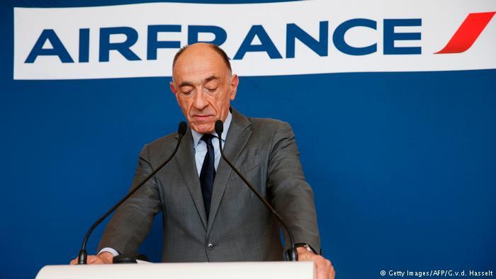 Frankreich Rücktritt Jean-Marc Janaillac, Air France-KLM (Getty Images/AFP/G.v.d. Hasselt)