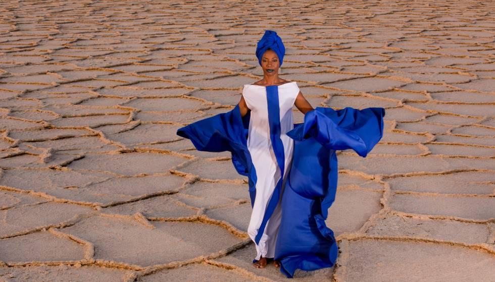 La cantante Fatoumata Diawara.