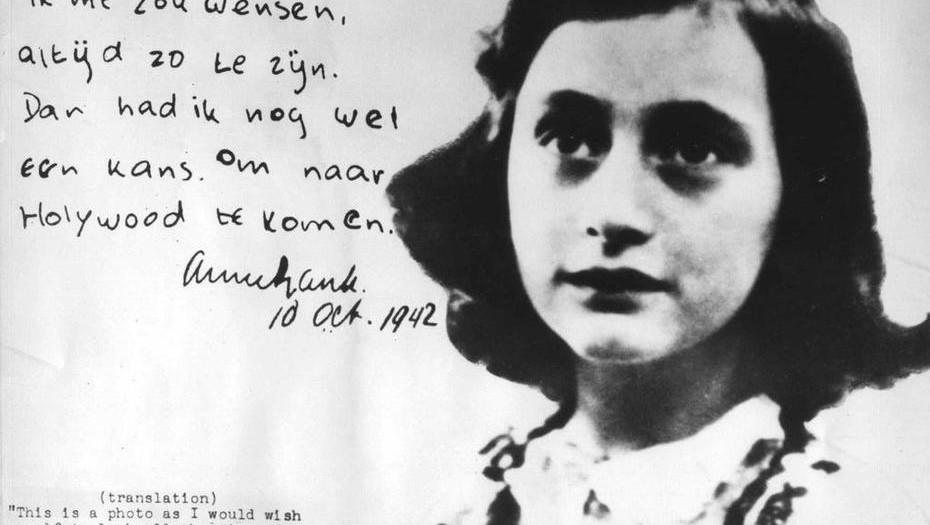 Revelan contenido sexual en páginas inéditas de Ana Frank