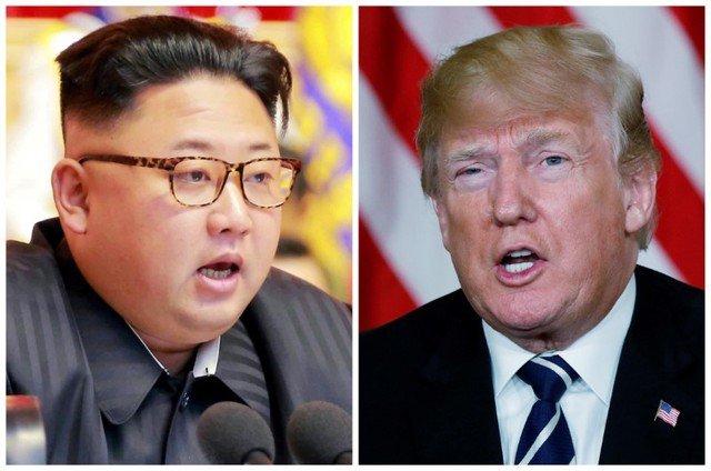 Foto de archivo: Una combinación de imágenes muestra al líder norcoreano, Kim Jong Un, en Pyongyang, Corea del Norte, y al presidente estadounidense, Donald Trump, en Palm Beach, Florida, Estados Unidos, respectivamente de archivos de Reuters. REUTERS/KCNA a través de Reuters y Kevin Lamarque