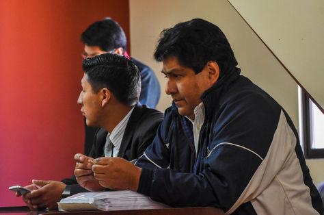 El exalcalde Édgar Patana durante una de sus audiencias. Foto: archivo APG