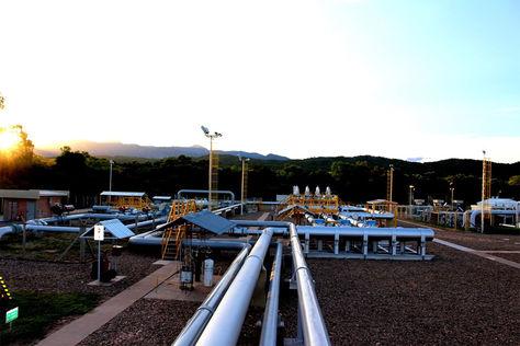Empresa Petrolera en la explotación de Hidrocarburos en Bolivia.