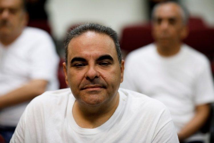 El ex presidente de El Salvador Elias Antonio Saca durante la audiencia por sus cargos de corrupción en El Salvador (REUTERS /Jose Cabezas)