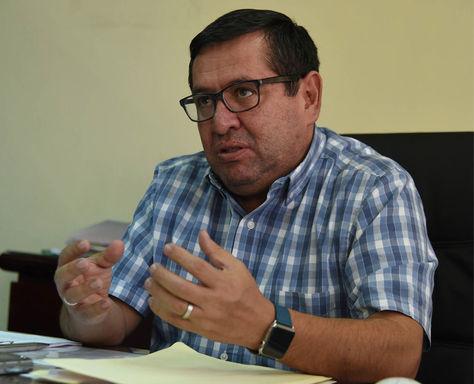 El ministro de Energías, Rafael Alarcón, en una entrevista con La Razón: Foto: Archivo