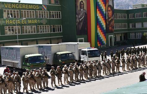 Presentación de la nueva institución policial