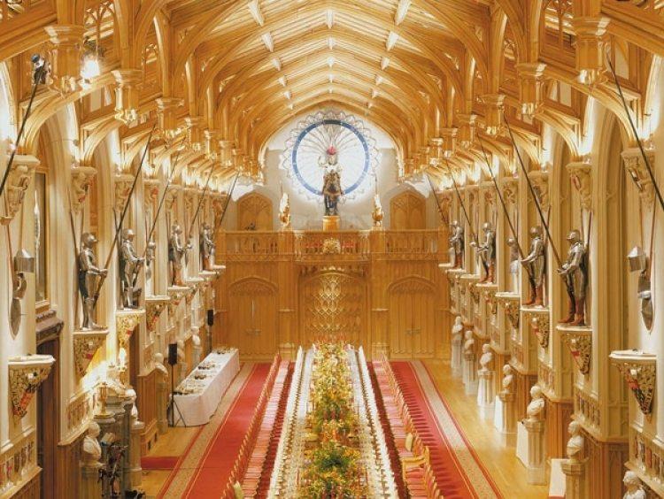 El interior de St George's Hall