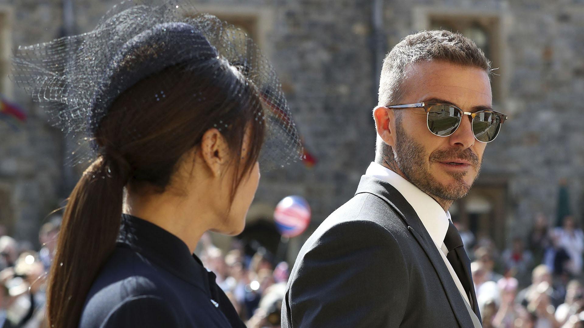 David y Victoria Beckham, íntimos amigos del príncipe Harry(AP)
