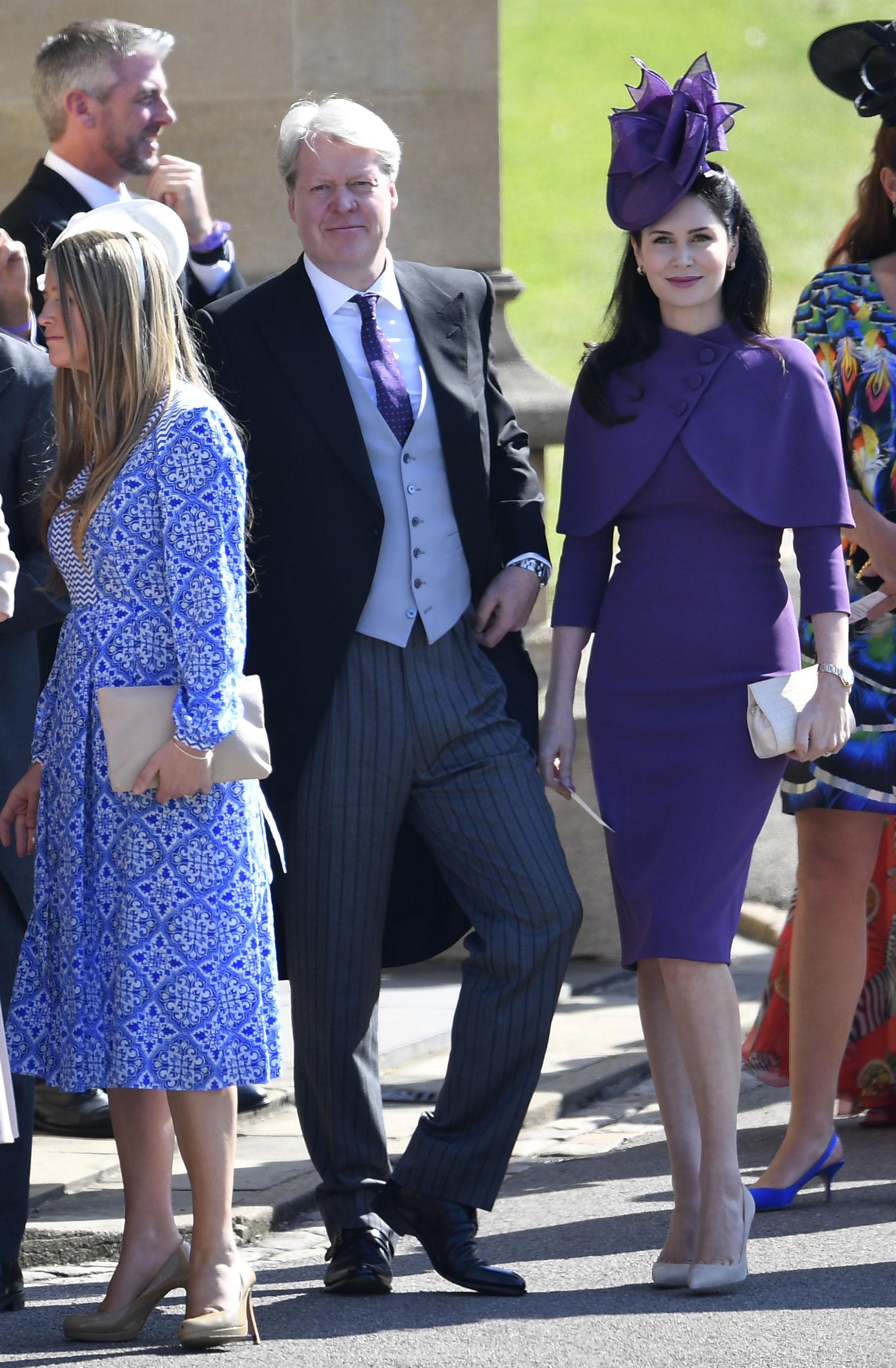 Charles Spencer, hermano de la fallecida Lady Di, y su esposa Karen