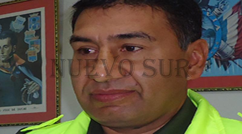 Cnel. Sadid Ávila Vargas, director departamental de Tránsito.