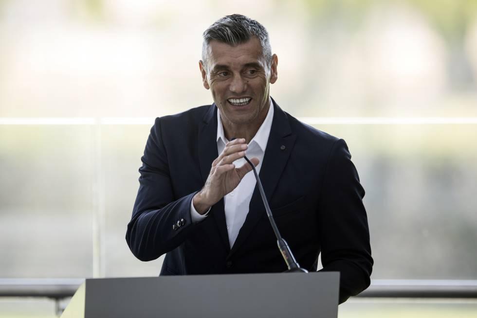 El exjugador de la selección argentina Sergio Goycochea, en 2017.