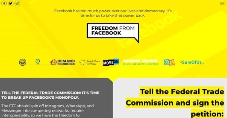 """La campaña """"Freedom from Facebook"""""""