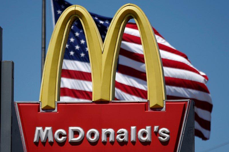 El logo de McDonald