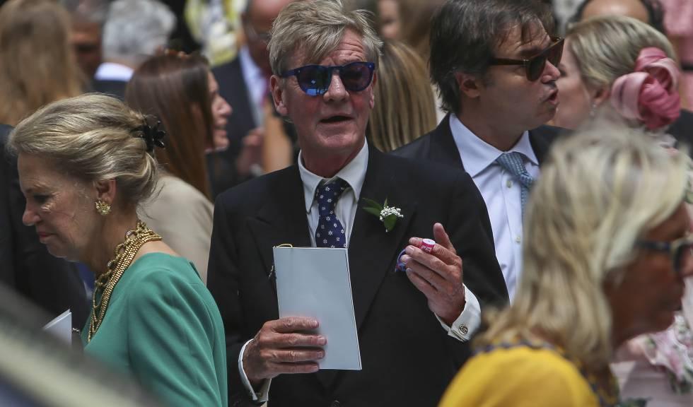 Ernesto de Hannover, el pasado marzo durante la boda de su hijo Christian.