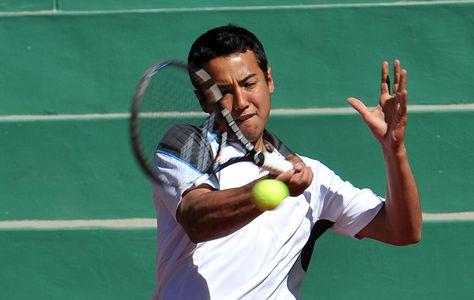 Hugo Dellien, raqueta número del tenis boliviano. Foto: Archivo La Razón