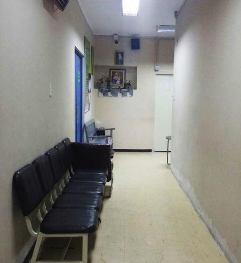 La sala de espera de la unidad de radioterapia de la CNS en La Paz.