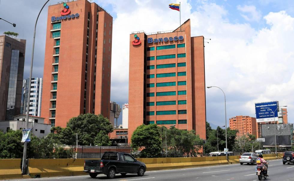 La sede de Banesco en Caracas.