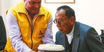 Alcalde Revilla visita al cardenal y la Iglesia gestiona una reunión Evo-Ticona