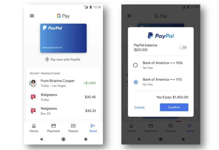 PayPal-Google