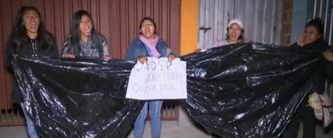Estudiantes de la UPEA piden justicia por la muerte de su compañero Jonathan Quispe Vila.