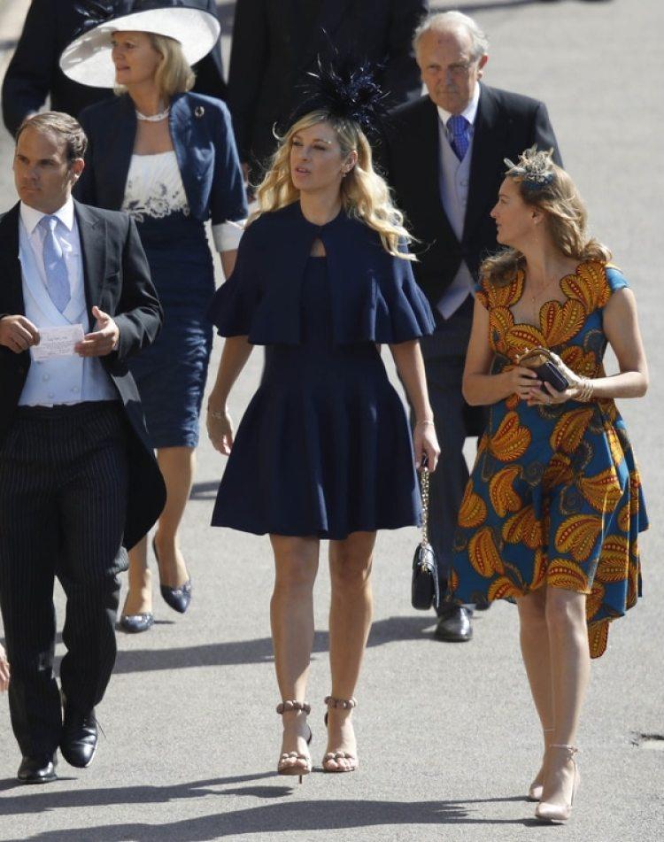 Chelsy Davy mantuvo una relación con el príncipe Harry desde 2004 hasta 2011 (AP)