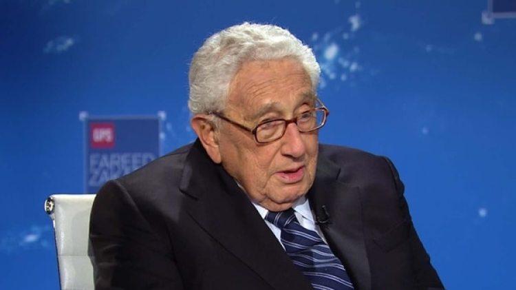 Henry Kissinger, ex secretario de Estado entre 1973 y 1977