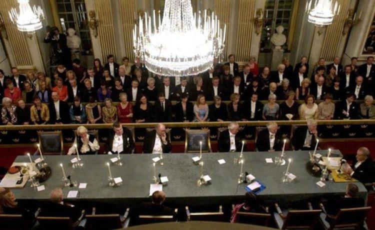 Miembros de la Academia Sueca (EFE)