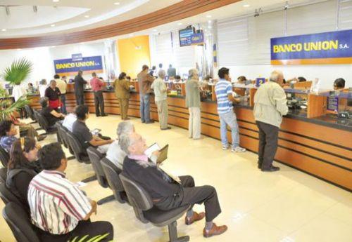 Bolsa subastará 65.429 acciones del estatal Banco Unión